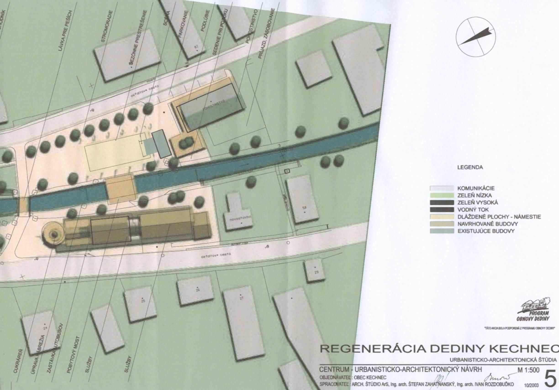 Centrum – urbanisticko-architektonický návrh B