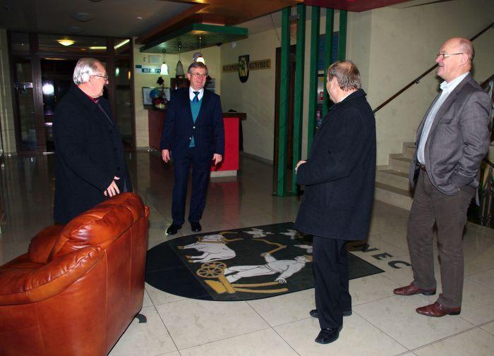 A német nagykövet látogatása J. E. Dr. Axela Hartmanna
